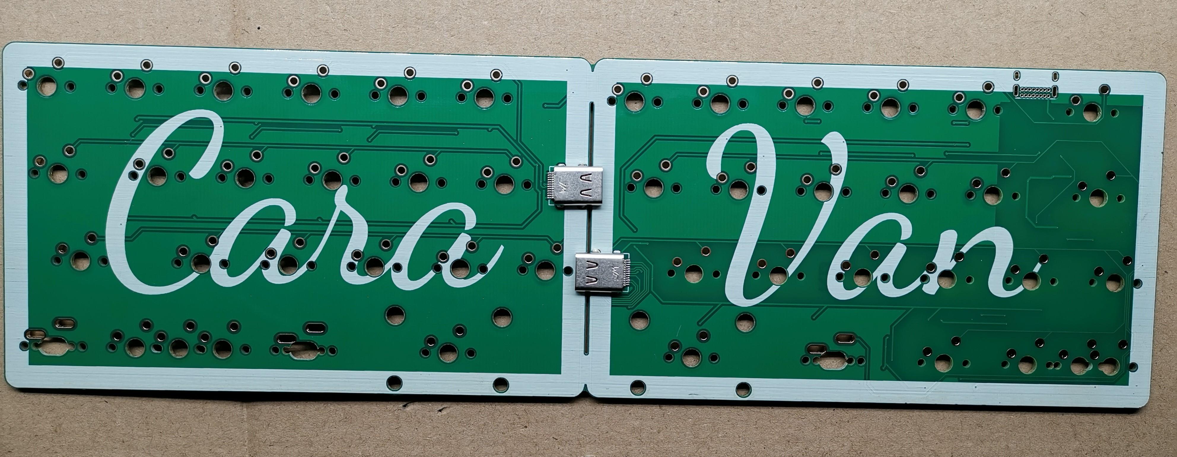 CaraVan 2 PCB front