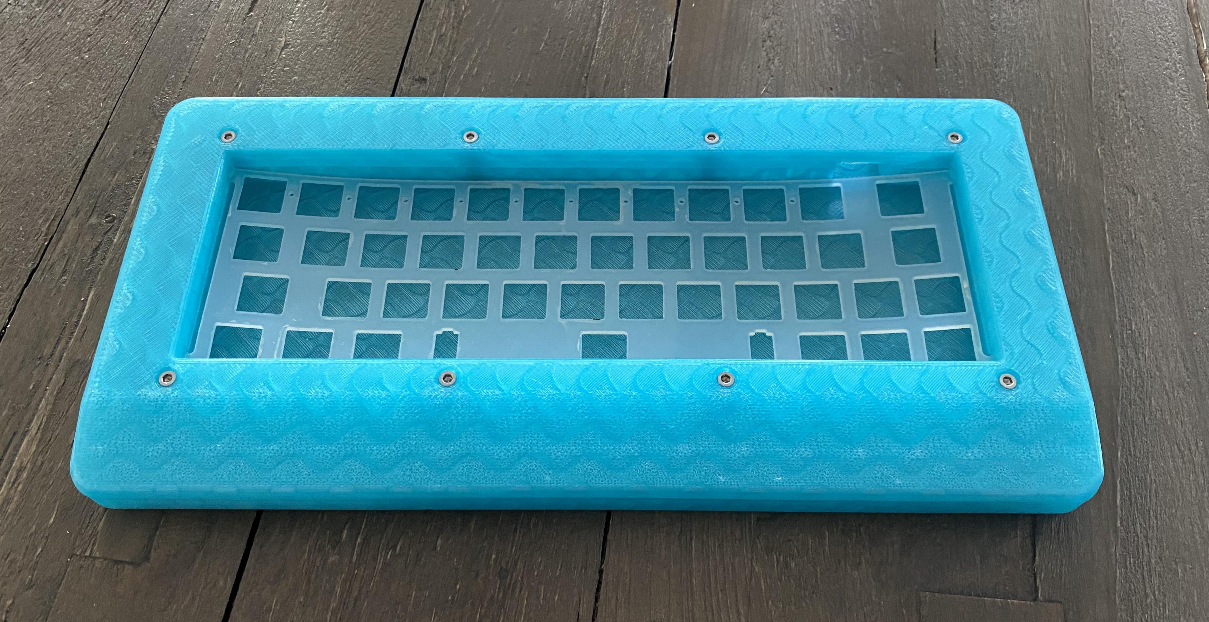 Polycarbonate Rackmount top render