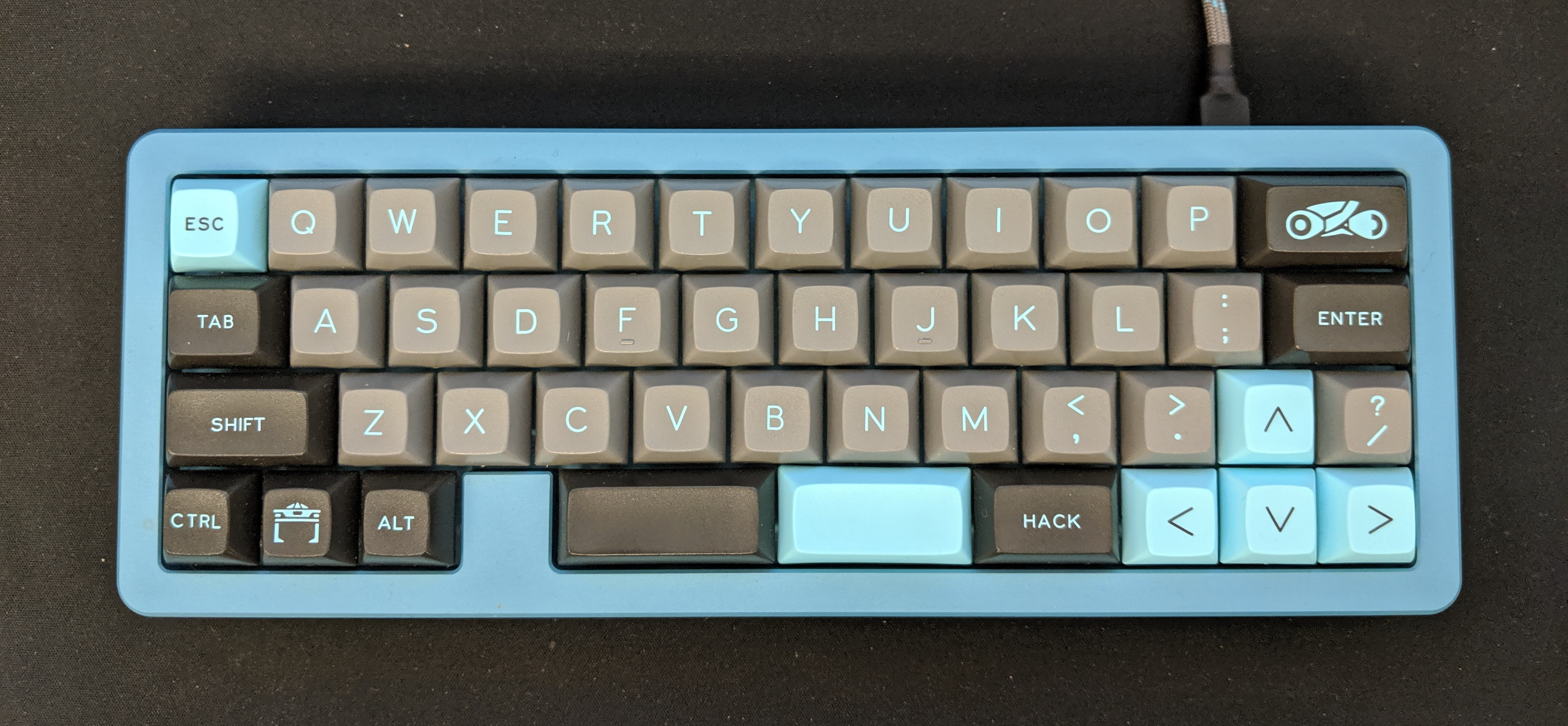 DSA Lightcycle R1 with R2 novelties on an MHKB S-Type in Fabulous Teal