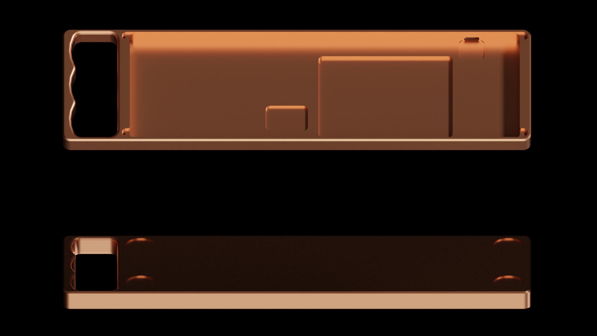 Render of Copper KnuckHull