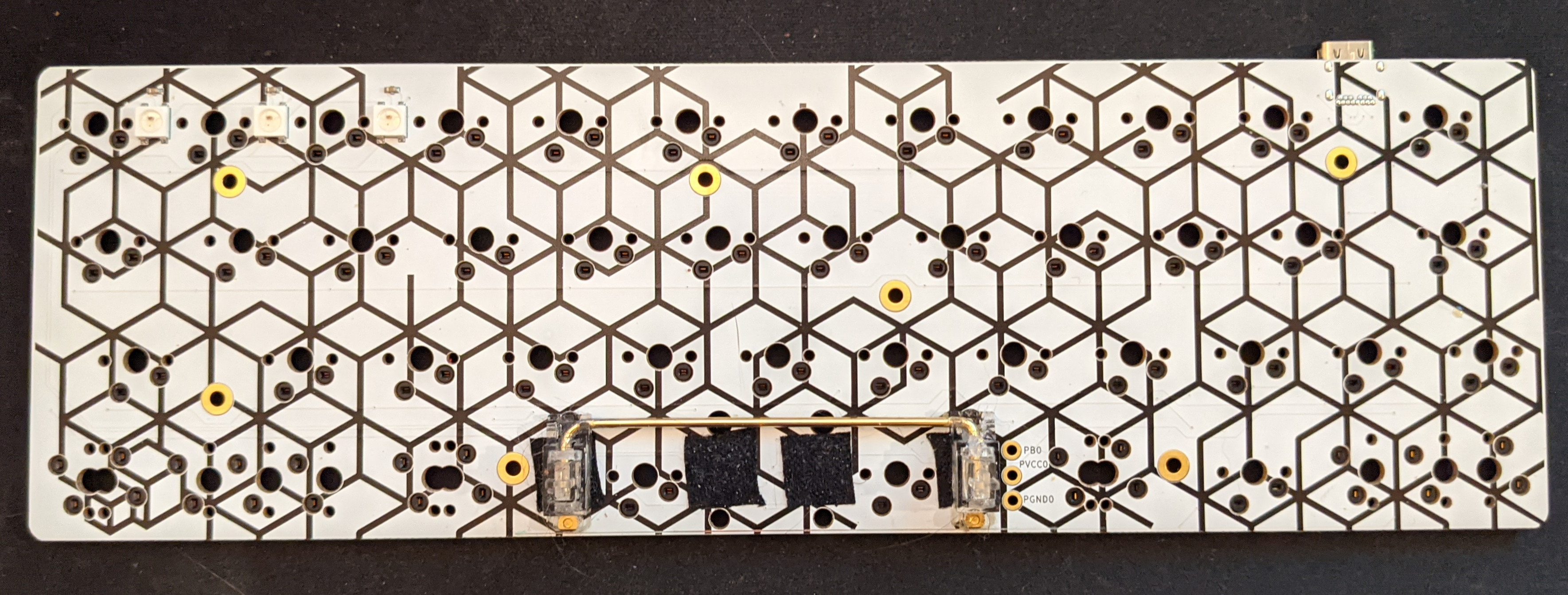 Front of the Catalyst PCB