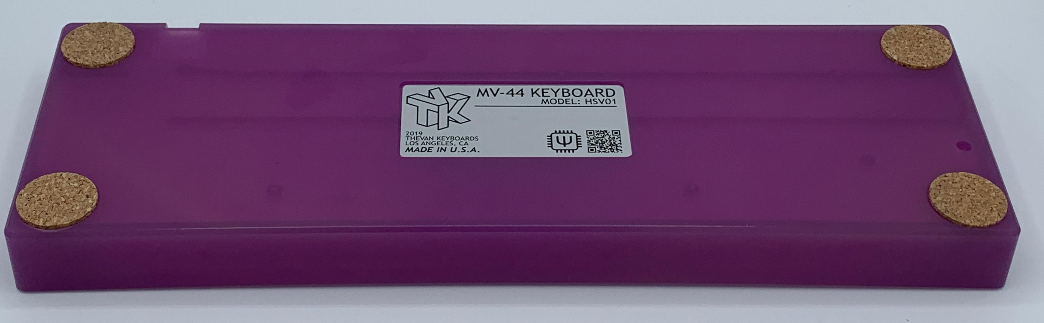 Bottom of the Atom plastic case