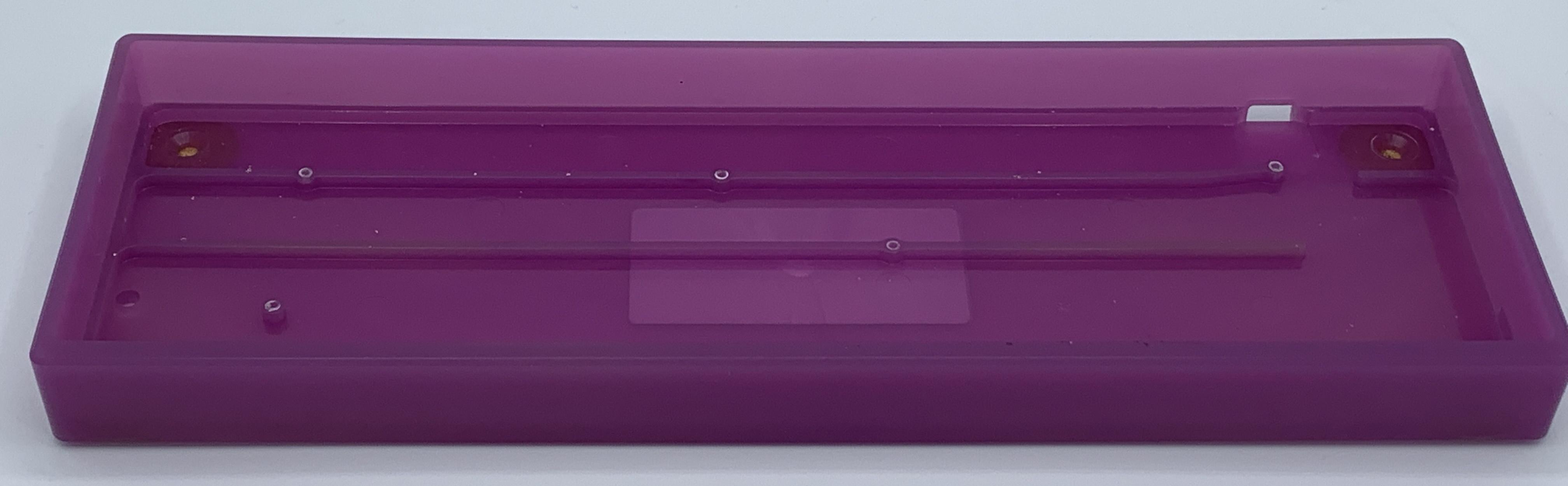 Inside of the Atom plastic case