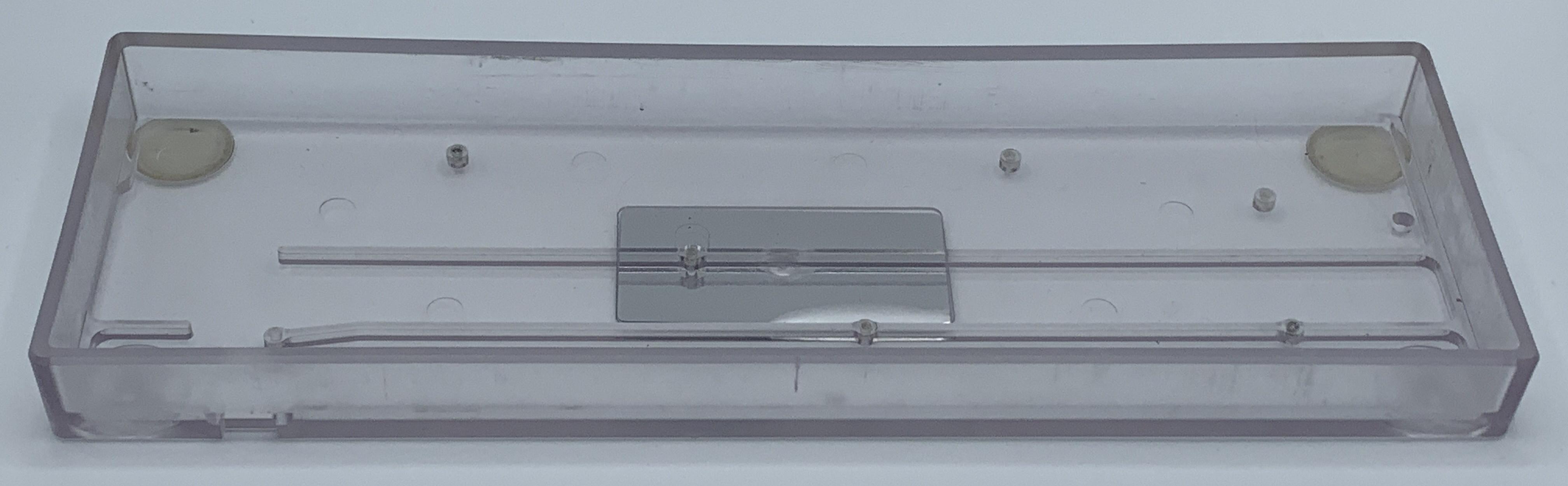 Inside of the KUMO plastic case