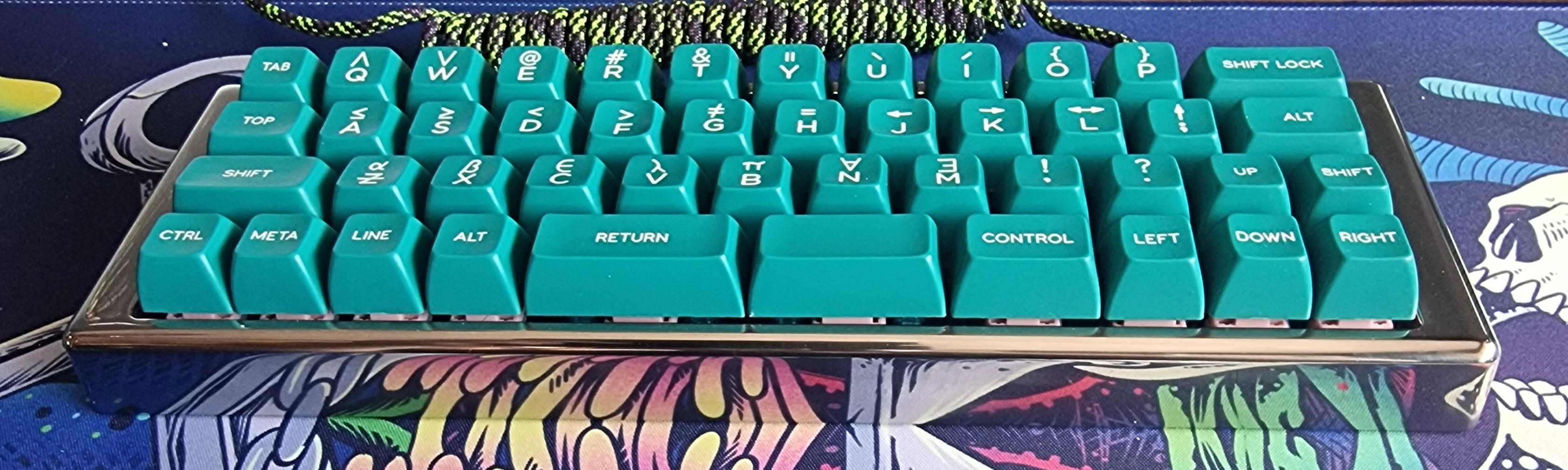 P⁴KCR3 FE with SA Sail keycaps