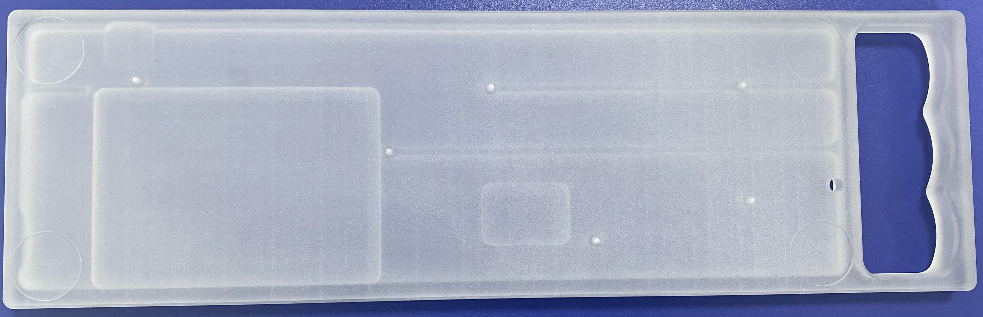 Bottom view of a polycarbonate Rackmount