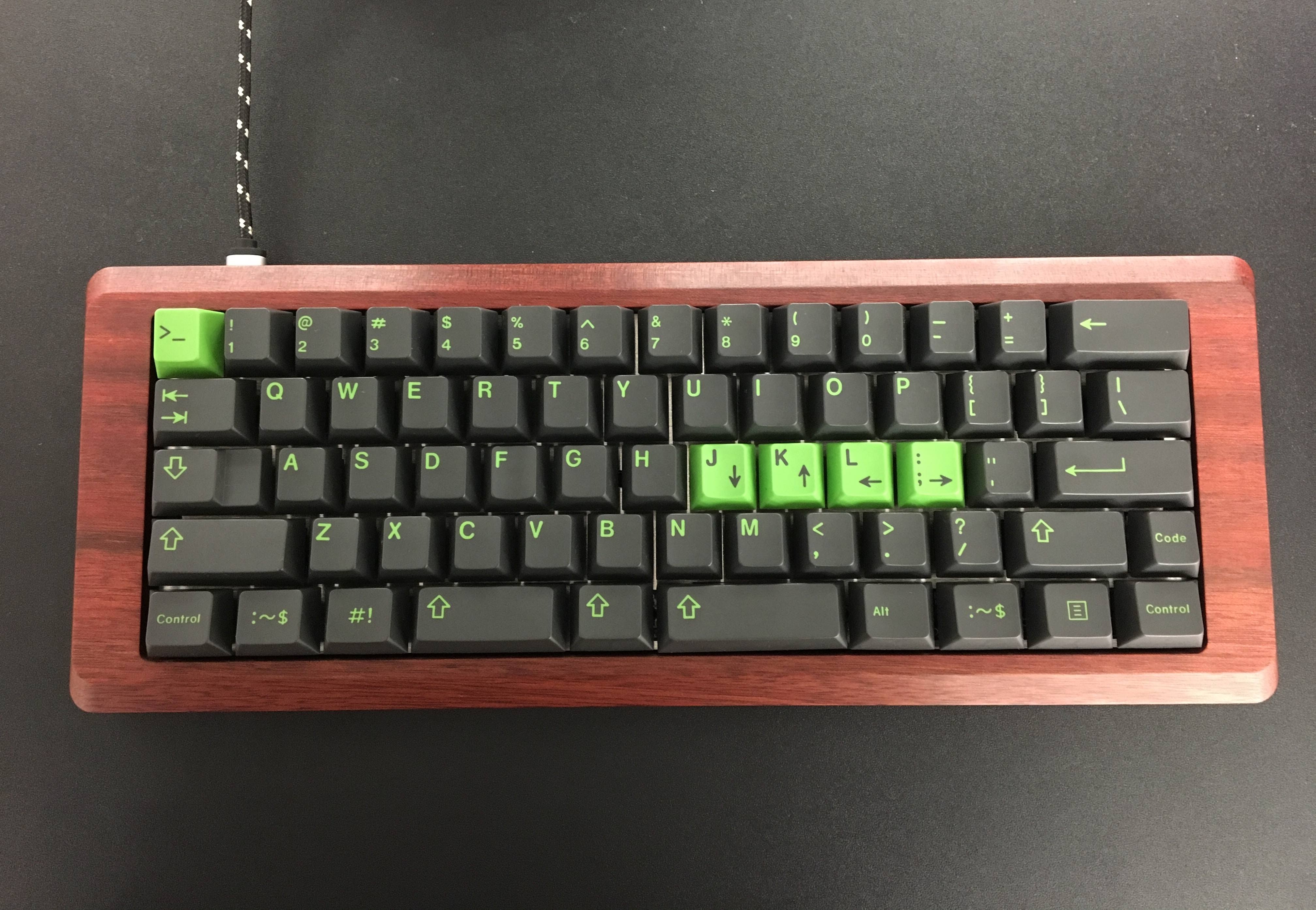 Bloodwood Retro60 with GMK Terminal