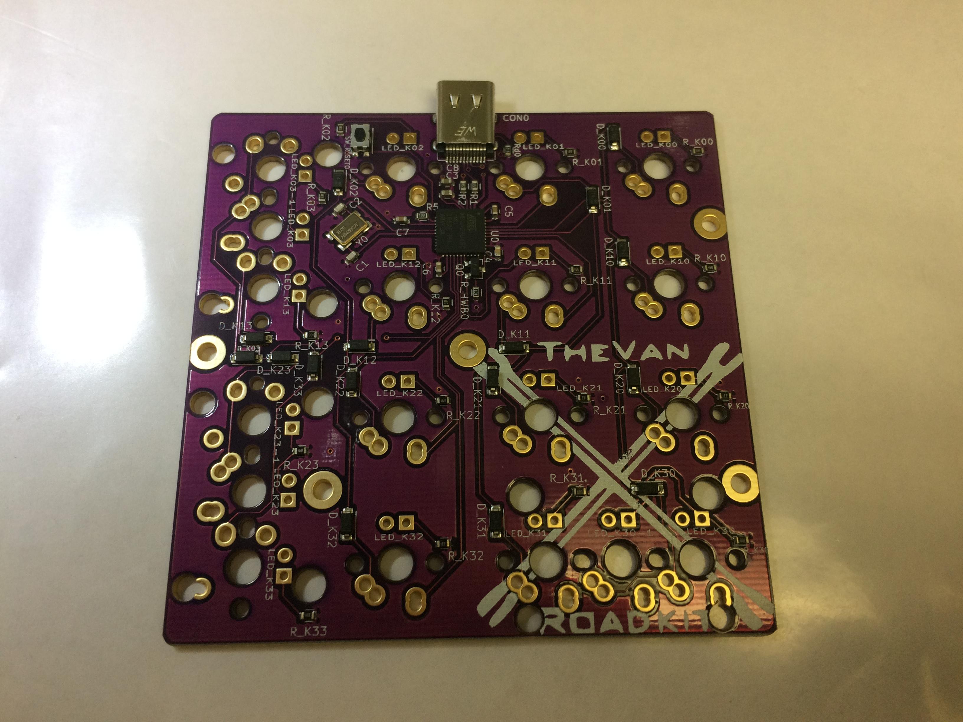 Roadkit PCB Rev 3.0 back