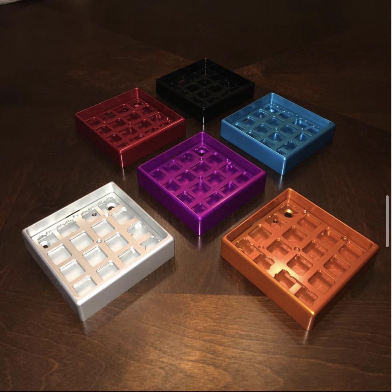Aluminum case colors