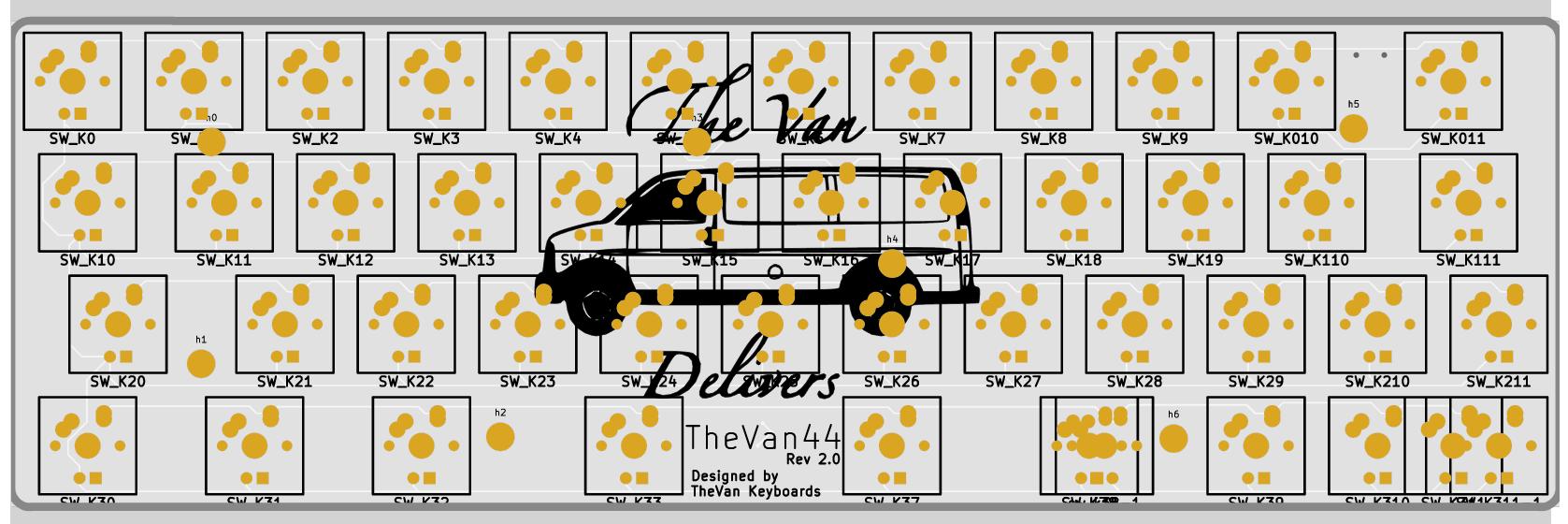 TheVan44 Rev 2.0 front render