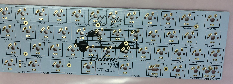 TheVan44 Rev 3.0 front