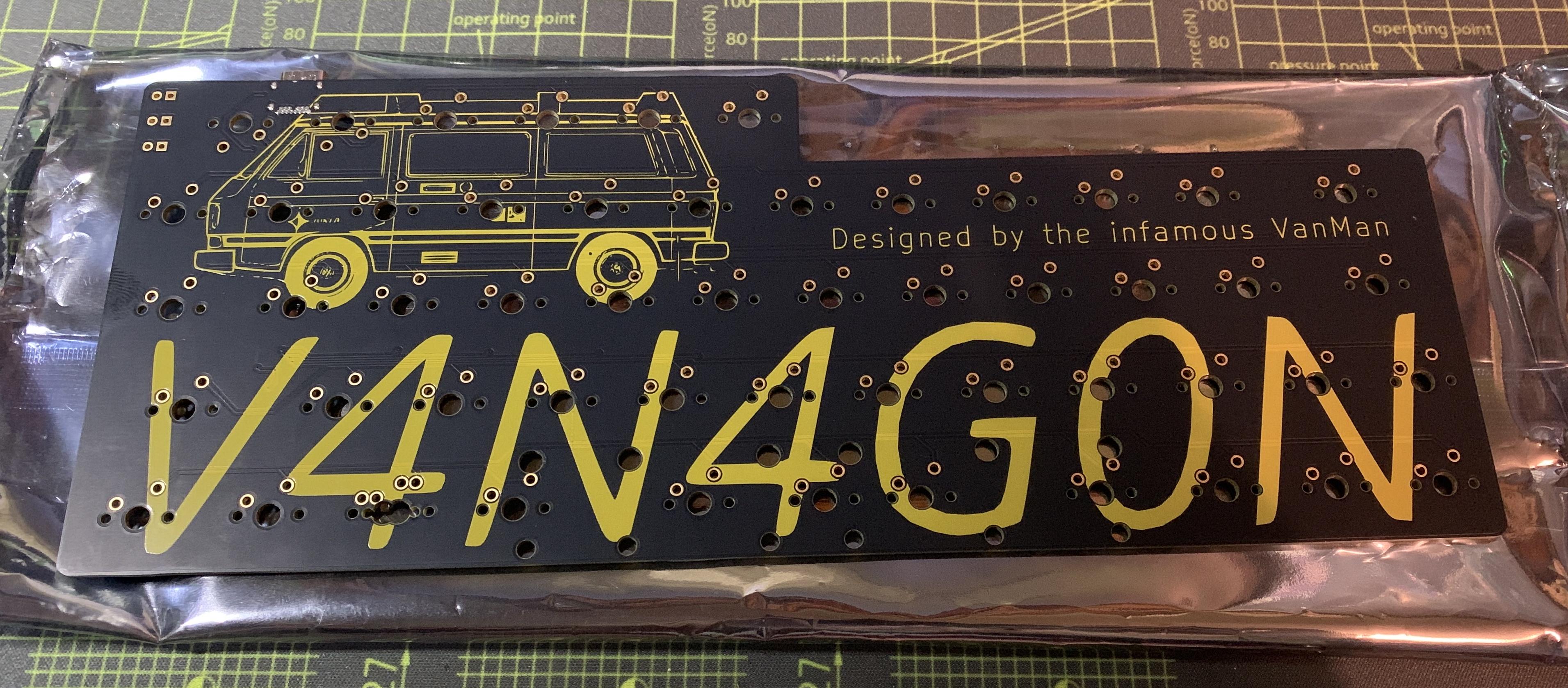 V4N4G0N R1 PCB front