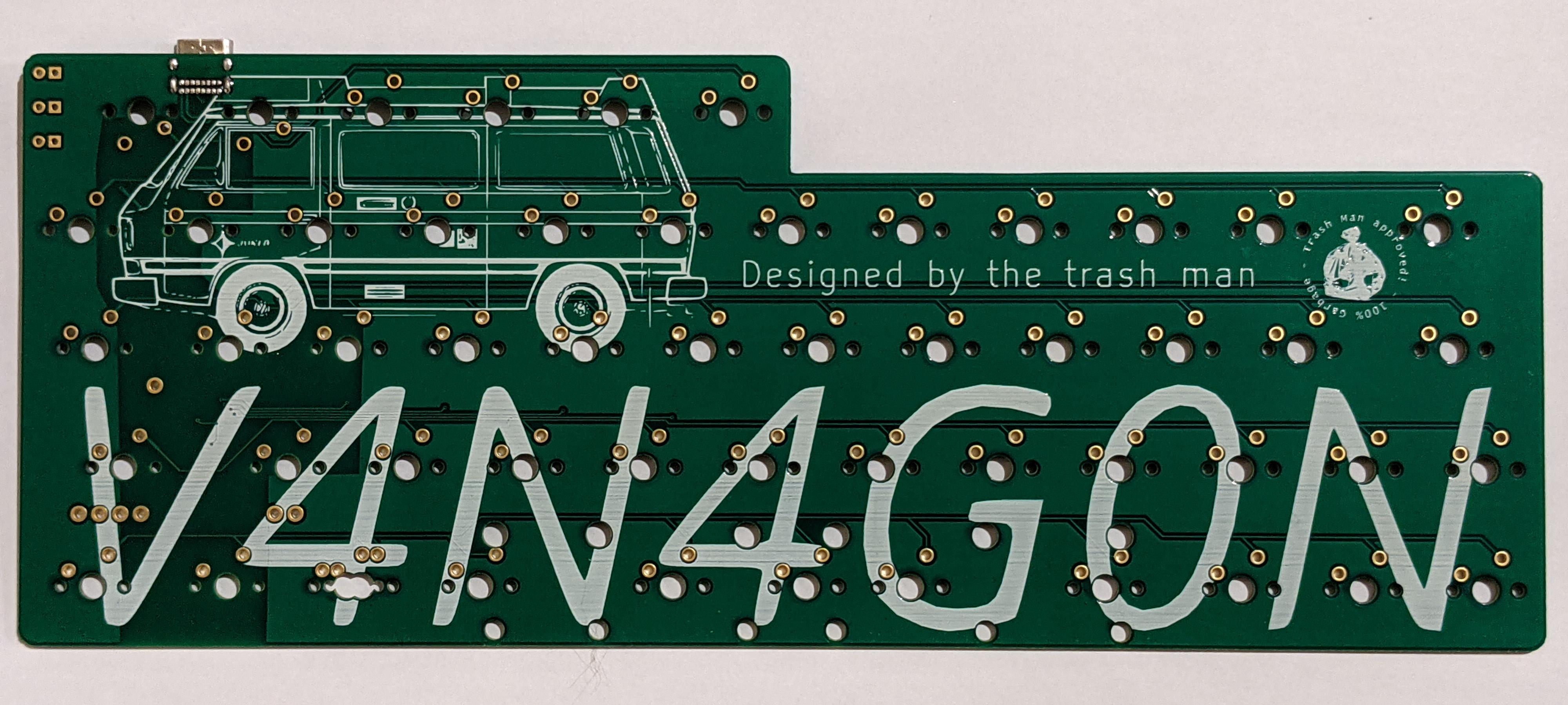V4N4G0N R2 PCB front