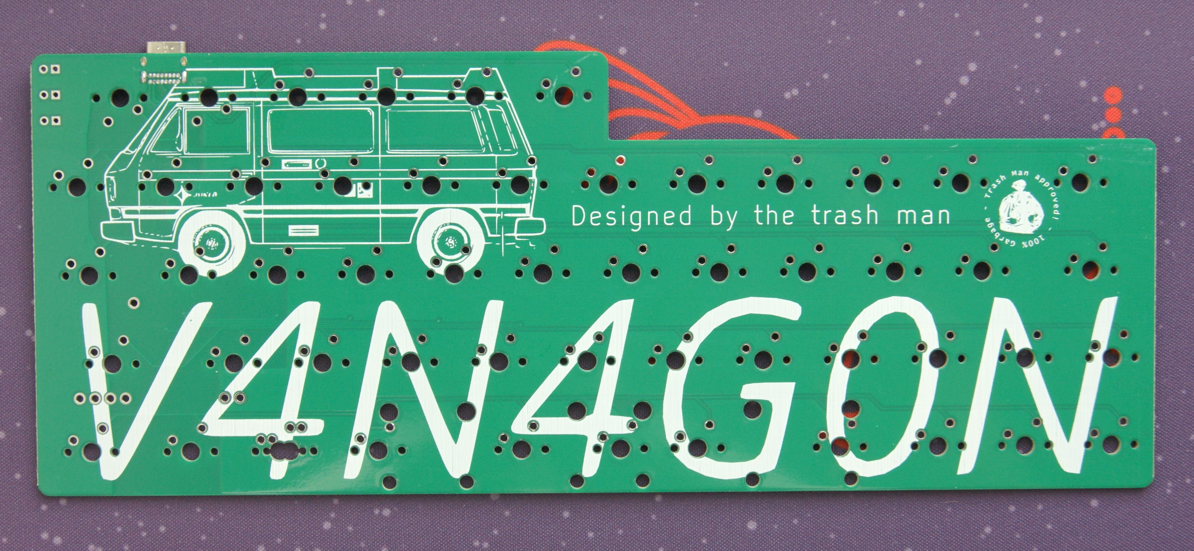 V4N4G0N R3 PCB front
