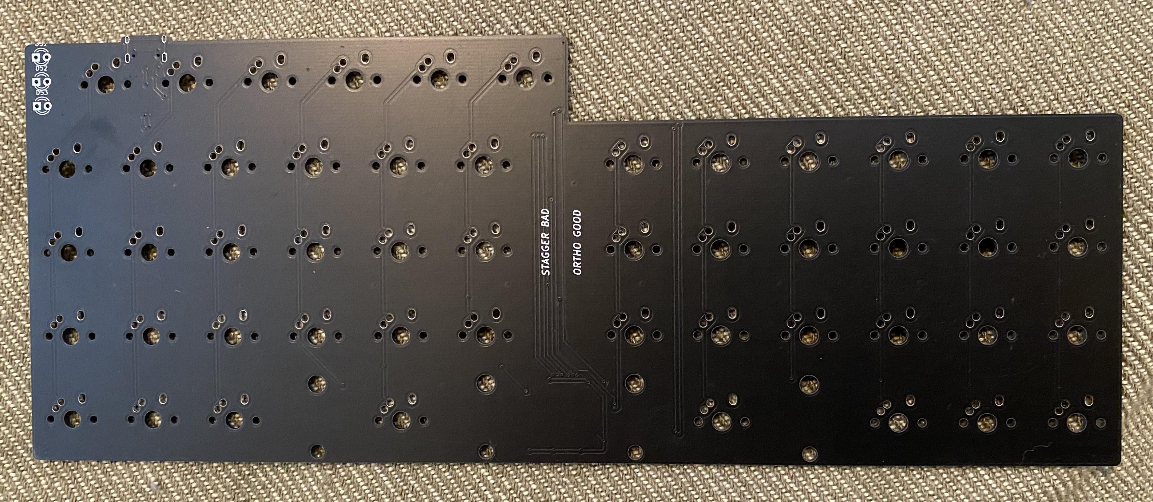 V4N4G0RTH0N V2 PCB front